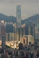 sky100 che costruisce Hong Kong foto