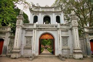tempio di letteratura foto
