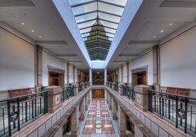 atrio del Texas Capitol foto