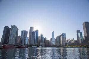 stati uniti d'america - illinois - chicago, skyline foto