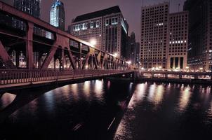 passeggiata sul fiume chicago foto