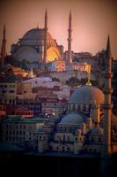 skyline di Istanbul foto