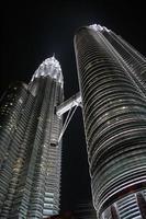 torri gemelle Petronas foto
