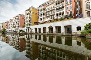 costruzioni di appartamento suburbane a Hangzhou, porcellana foto