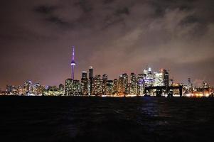paesaggio urbano di Toronto foto