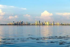 skyline di miami foto