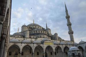 la moschea blu di istanbul