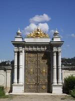 Palazzo Beylerbeyi, cancello foto