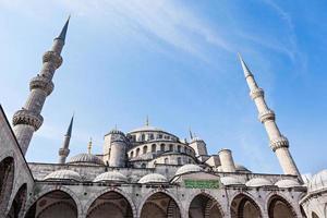 la moschea suleymaniye foto