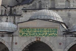 sultano ahmed moschea blu foto