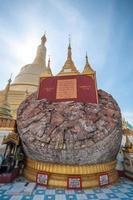 tempio di Myanmar foto