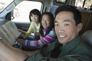 mappa di consulenza familiare in camper foto