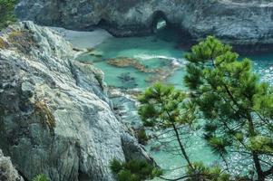 la diversa costa della california foto