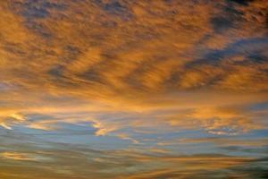 tramonto Cloudscape foto