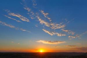 tramonto di pretoria foto