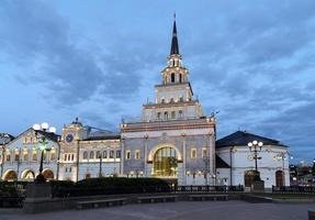 terminal ferroviario kazansky (kazansky vokzal) - mosca, russia. foto