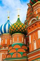 mosca, russia, cattedrale di san basilio foto