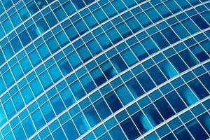 raccolto diagonale astratto blu dell'ufficio moderno foto