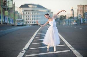 ballerina al centro di mosca