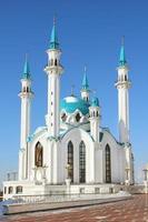 Moschea di Kul Sharif nel Cremlino di Kazan - Russia foto