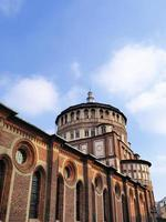 convento di santa maria delle grazie, milano, lombardia, italia foto