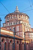 chiesa di santa maria delle grazie, milano, italia,