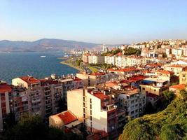 Torre di Asansor costiera di Izmir foto