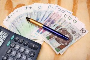 stipendio polacco per soldi foto