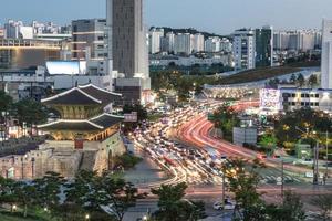 Porta Heunginjimun a Seoul foto