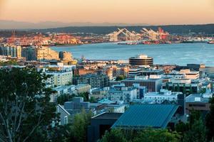 Seattle la sera foto