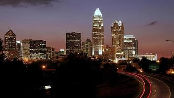Charlotte, NC Skyline foto