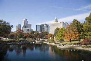 skyline di Charlotte foto