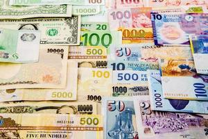 carta moneta foto