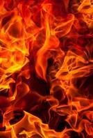 sfondo di fuoco foto