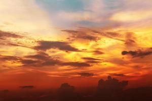 tramonto sul mare foto