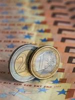 moneta in euro foto