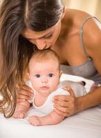 madre e bambino foto