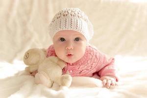 piccola bambina foto
