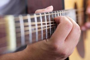 chitarra da vicino foto