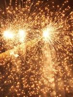 i fuochi d'artificio si chiudono