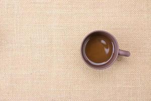 tazza da tè di primo piano foto