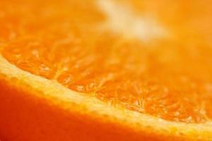 alto vicino dell'arancia foto
