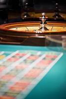 tavolo da roulette foto