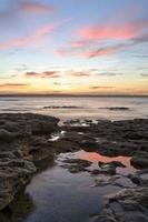 bellissimo tramonto murrays beach jervis bay foto