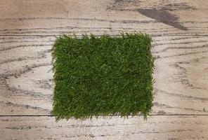erba artificiale da vicino foto