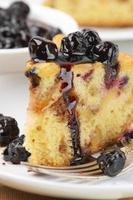 primo piano della torta di frutta