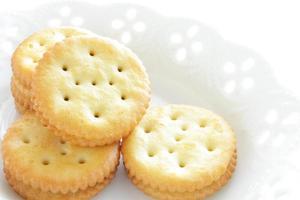 Chiuda in su del biscotto foto