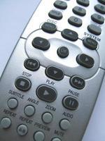 primo piano del telecomando foto