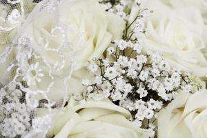 bouquet da sposa, da vicino foto