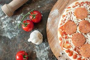 cucina per pizza foto